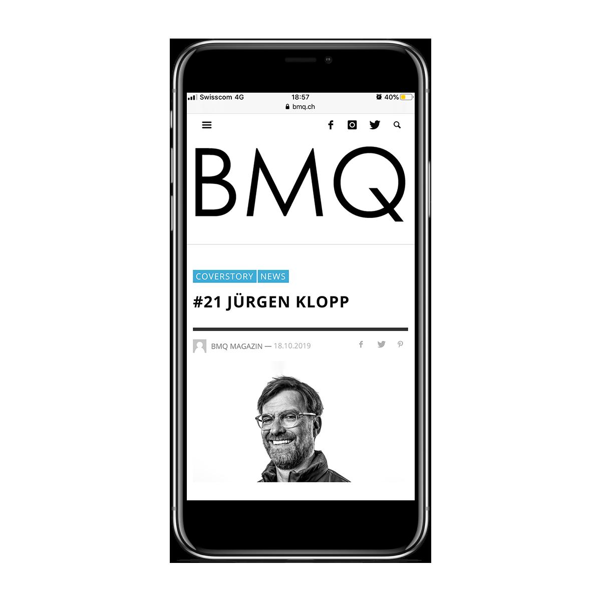BMQ - Responsive Design