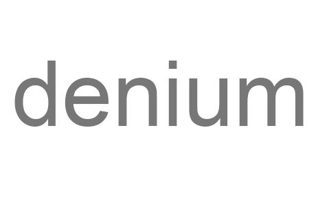 denium Logo