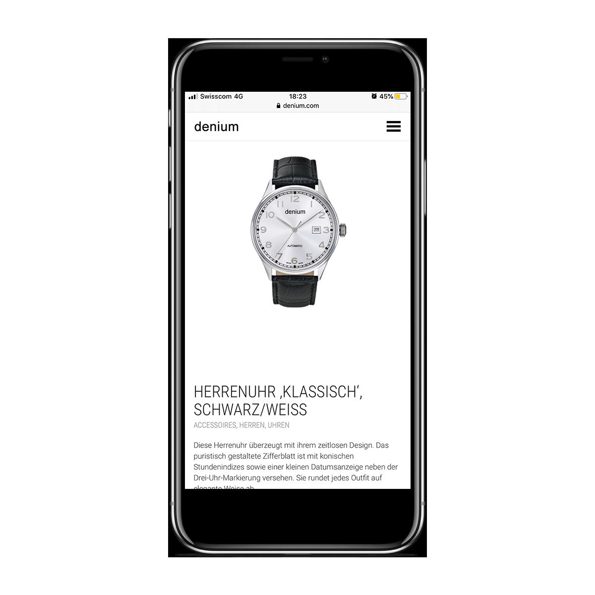 Denium Mobile Version