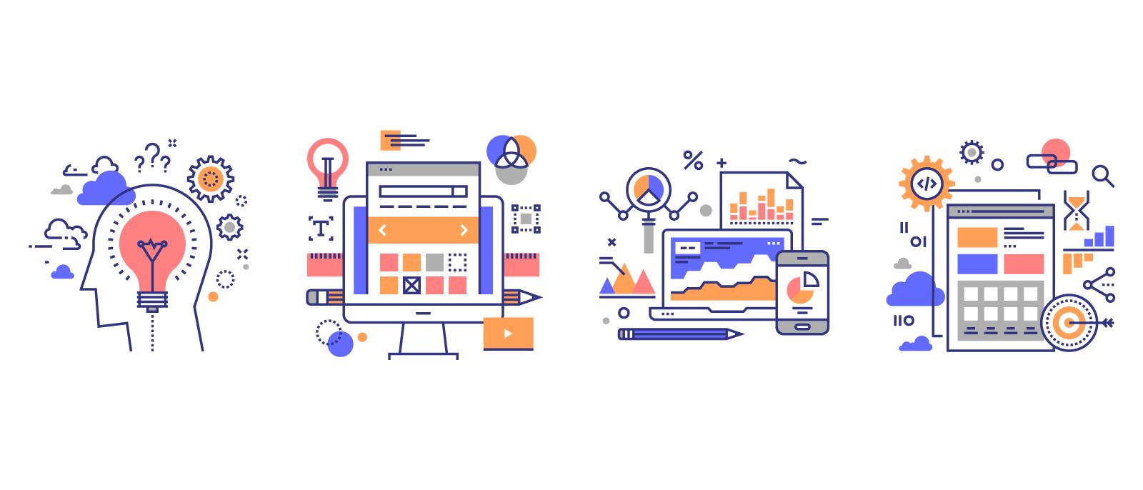 Webentwicklung Procezzen